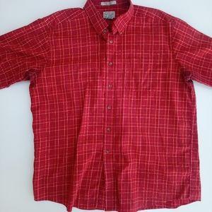 L. L. Bean button front shirt men's XL